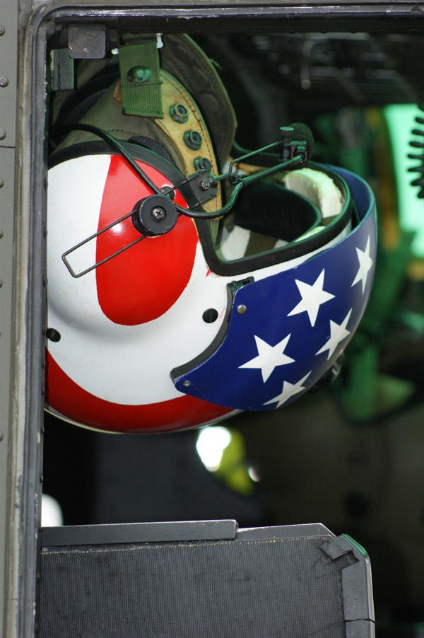 Huey Captain's helmet
