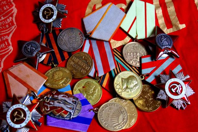 Soviet medal collection