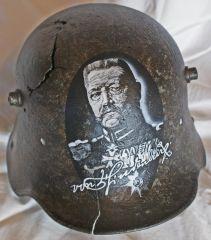 WW1 M16 Hindenburg Helmet