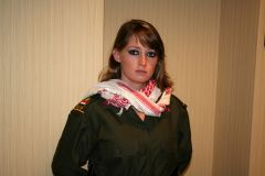 Female Member Of Saddam's Ba'ath Party (Revolutionary Command Council), 1990 Iraq