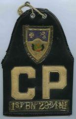1st BN, 3rd IR   CP  Brassard  01