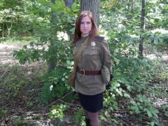 Soviet Russian WW2 Female Soldier