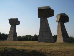 Bubanj Memorial Park, Niš, Serbia.