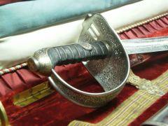M1861 sabre of King Aleksandar Obrenović