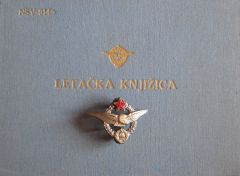 Pilots' Wings and Flight Book of the Yugoslav Air Force