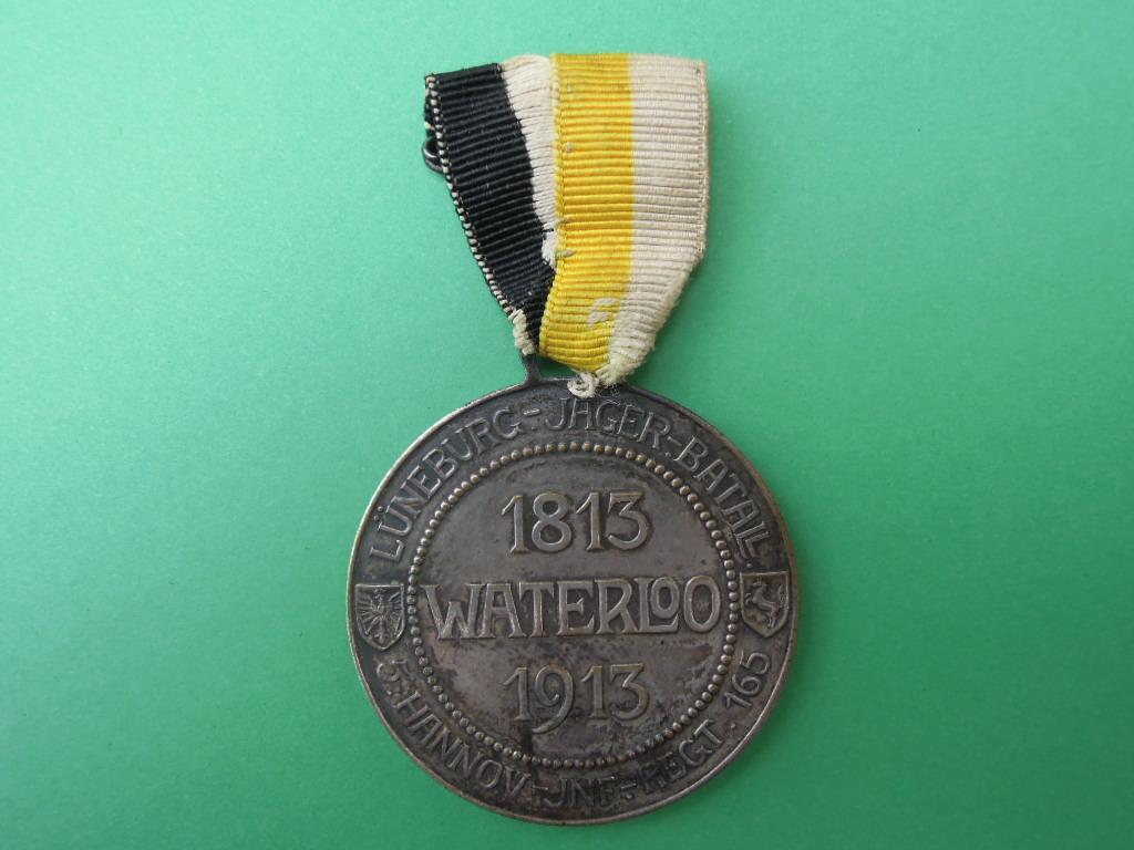 Erinnerungsmedaille, 100 Jahre Waterloo 1813-1913 - Germany