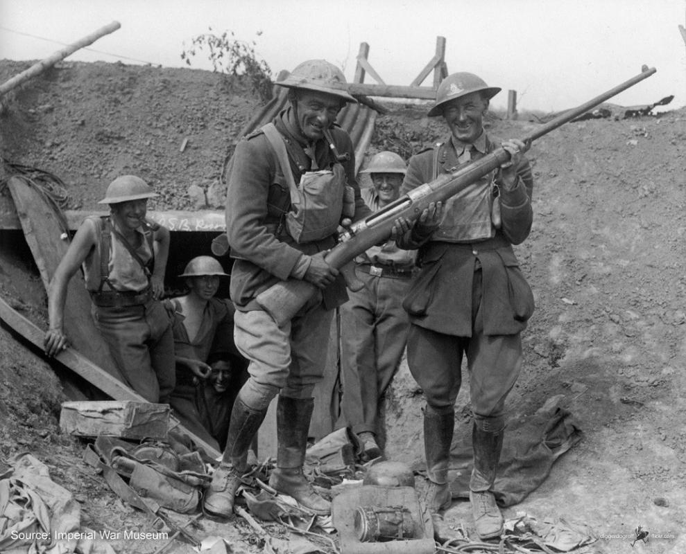 Elephant guns used during WW1 - Great Britain: Research ...