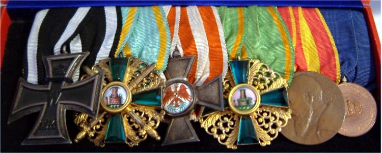 A Baden Medal Bar - Germany: Imperial: The Orders