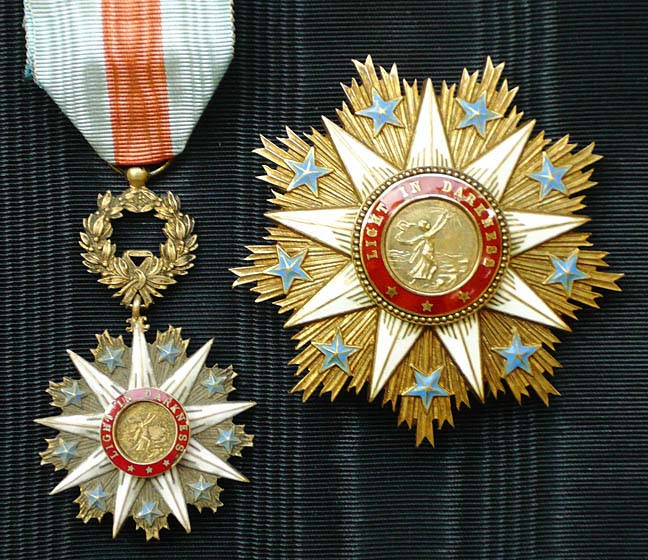 Liberia Order Of The Star Of Africa Africa Gentleman