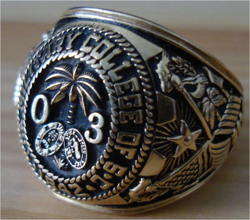 Us Army Class Rings: US High School/College Class Rings..do You Still Wear