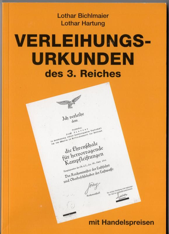 BOOKS - Reference Works For Paperwork Collectors - Germany: Third ...