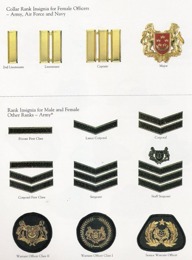 Singapore Armed Forces ranks