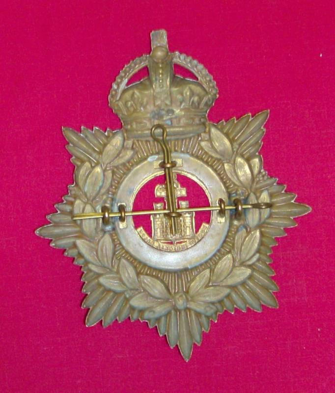 Home Service Helmet Plate - Great Britain: Militaria: Badges