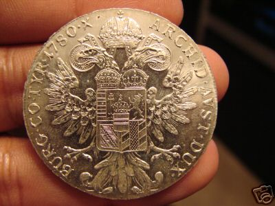 Maria Theresa Silver Thaler - Coins & Commemorative ...