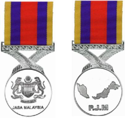 The Pingat Jasa Malaysia Medal - Great Britain: Orders