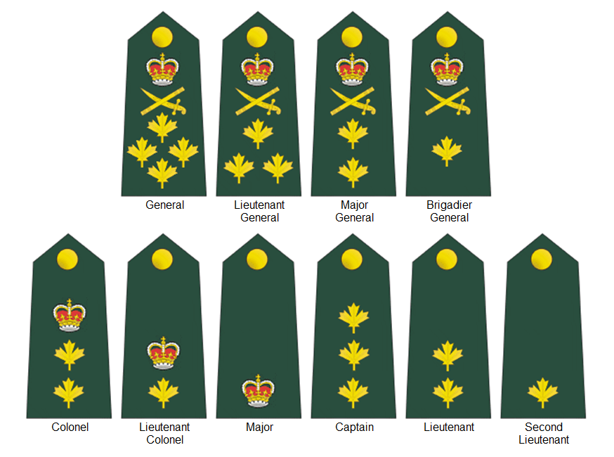 New Rcaf Ranks And Uniform Patches Commonwealth Realms Canada