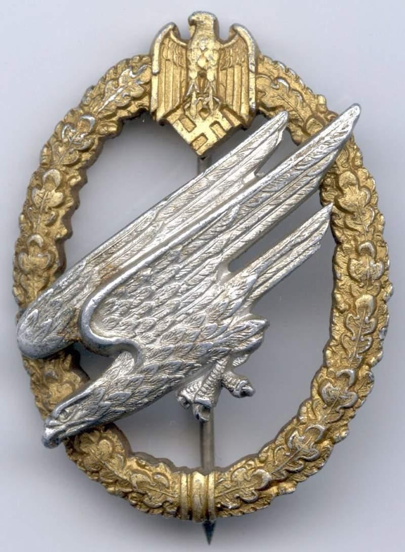 Fake Army Parachutist Badges - Germany: Third Reich