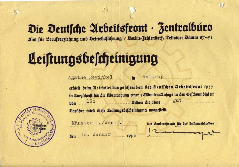 DSS - Rewinkel, Agathe - 19 (10.1.36) DAF Leistungsbescheinigung.jpg