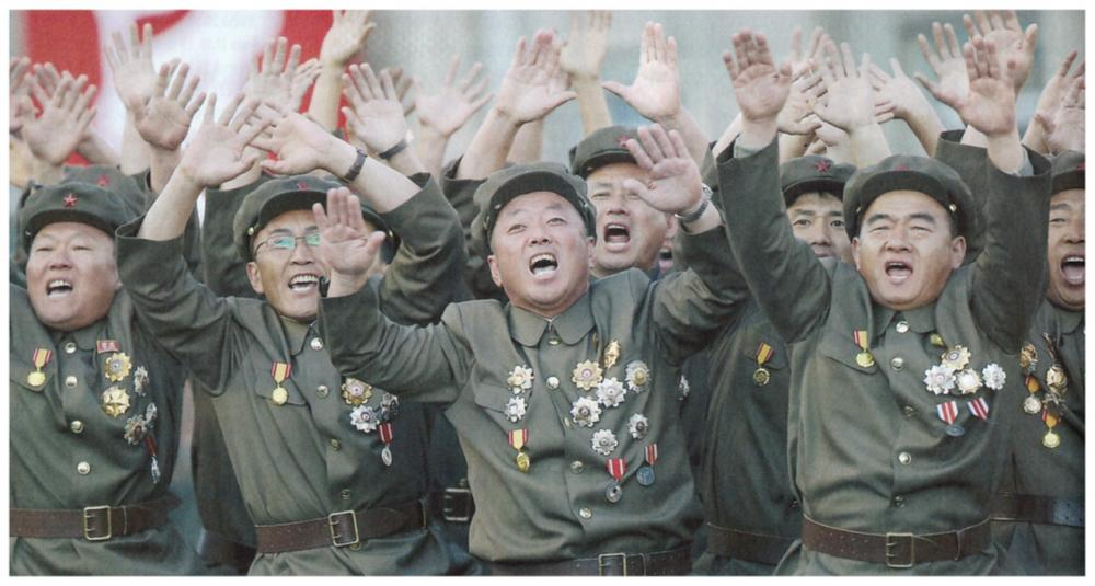 North Koreans w new medals.jpg