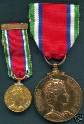 SL Service Medal  & Mini Obv..jpg