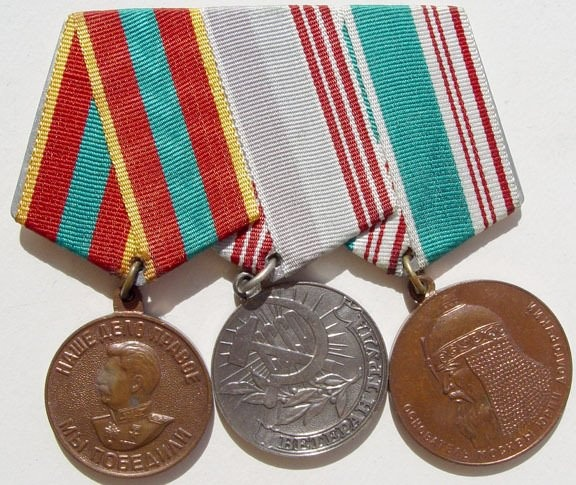 Veteran of Labor medal set.jpg