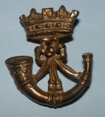 CONWALL Lt Inf PRE1901 CAPBADGE