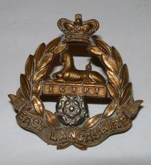 3rd MILITIA Bn EAST LANCASHIRE REGT CAP BADGE PRE 1901
