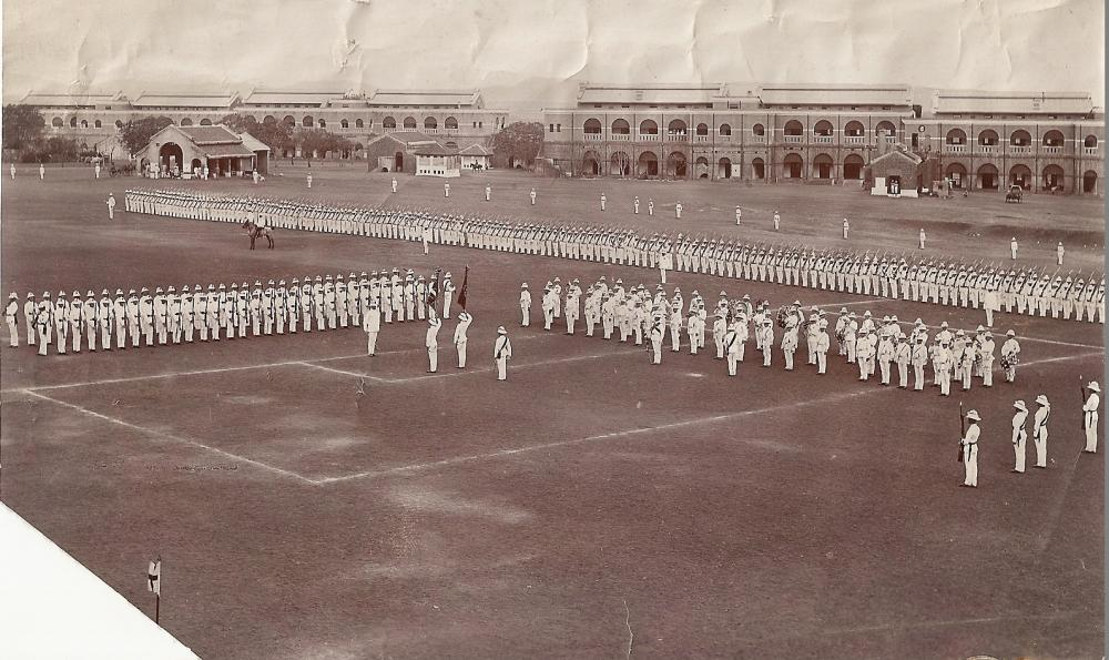1st Bn, St.Georges Day, 1912.jpg