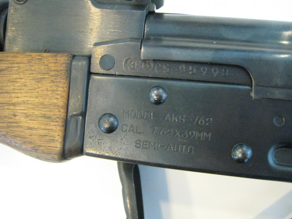 Norinco Type 56 (AK-47) Galil ser. no. CS - 05998 - 2.JPG