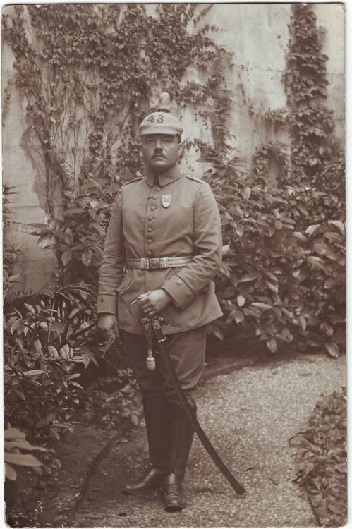 Feldart.Rgt. 43 (Leutnant Richard Reimann, Rettungsmedaille).JPG