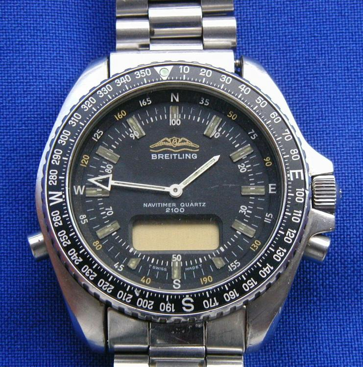 Yugoslavia JNA Airforce Pilot BREITLING watch.JPG