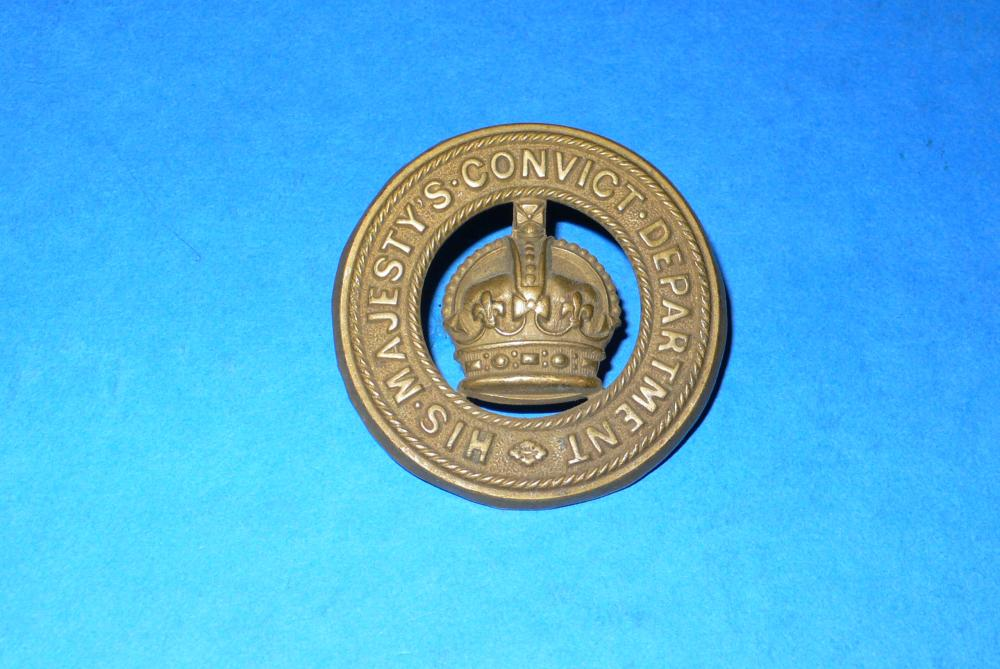 Union of South Africa His Majesty's Convict Department Badge 1902.jpg