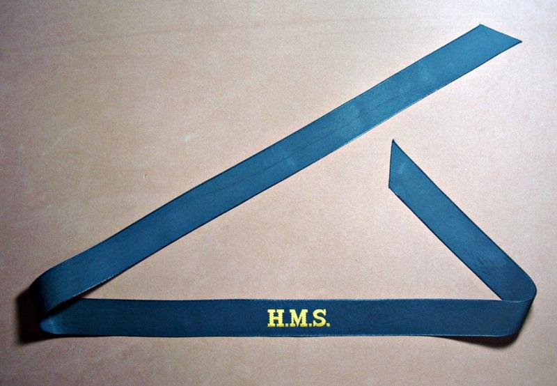 H.M.S. Cap tally - 01a.JPG