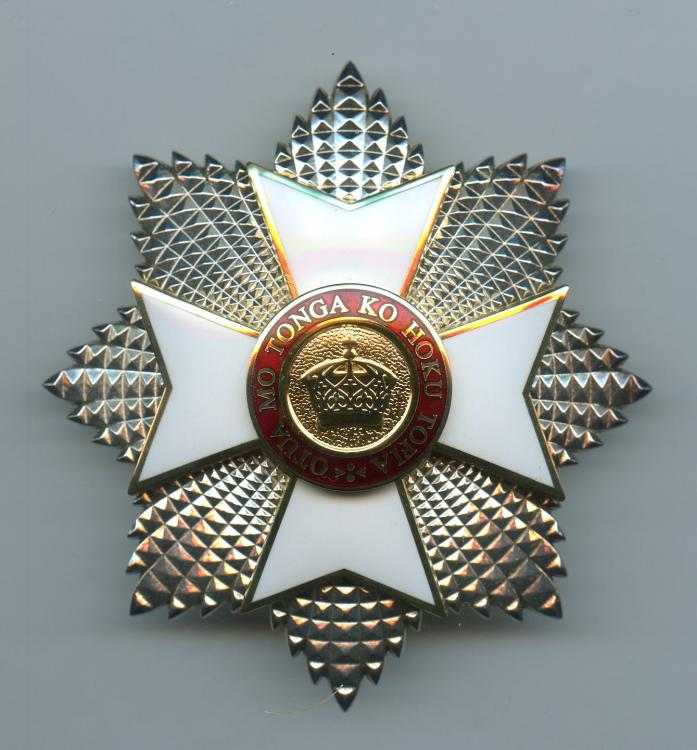 Tonga Order of the Crown Grand Cross breast star Type 2.jpg