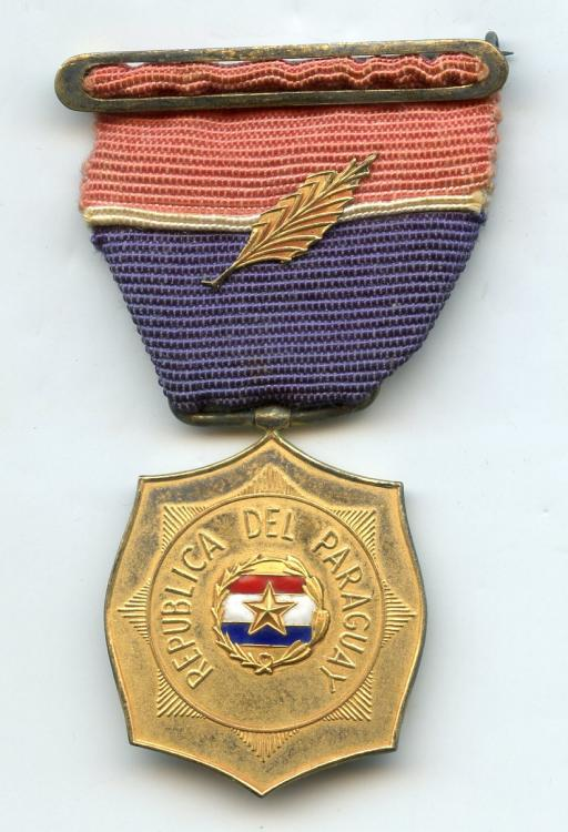 Paraguay Medal of Honor of the Ministry of Defense obverse.jpg
