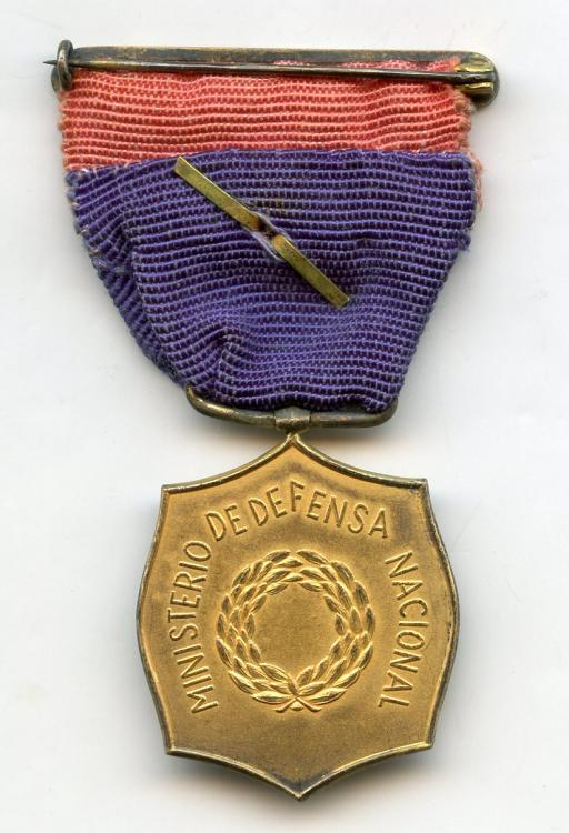 Paraguay Medal of Honor of the Ministry of Defense reverse.jpg