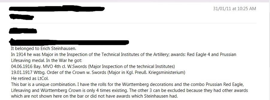 Oberstleutnant a.D. Erich   Steinhausen Award Info - Copy.jpg