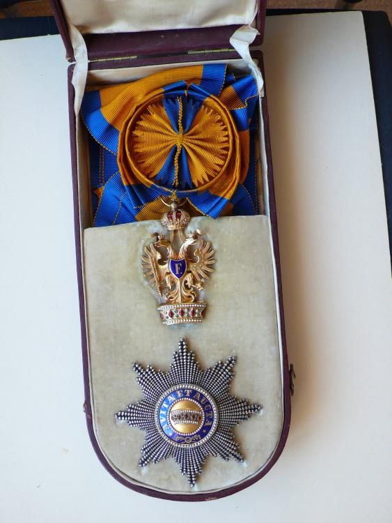Order Of The Iron Crown Austro Hungarian Empire