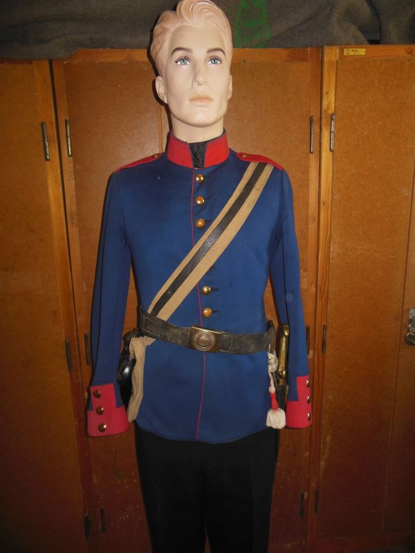 Prussian Uniform And Gear From 1870 1907 15 Germany