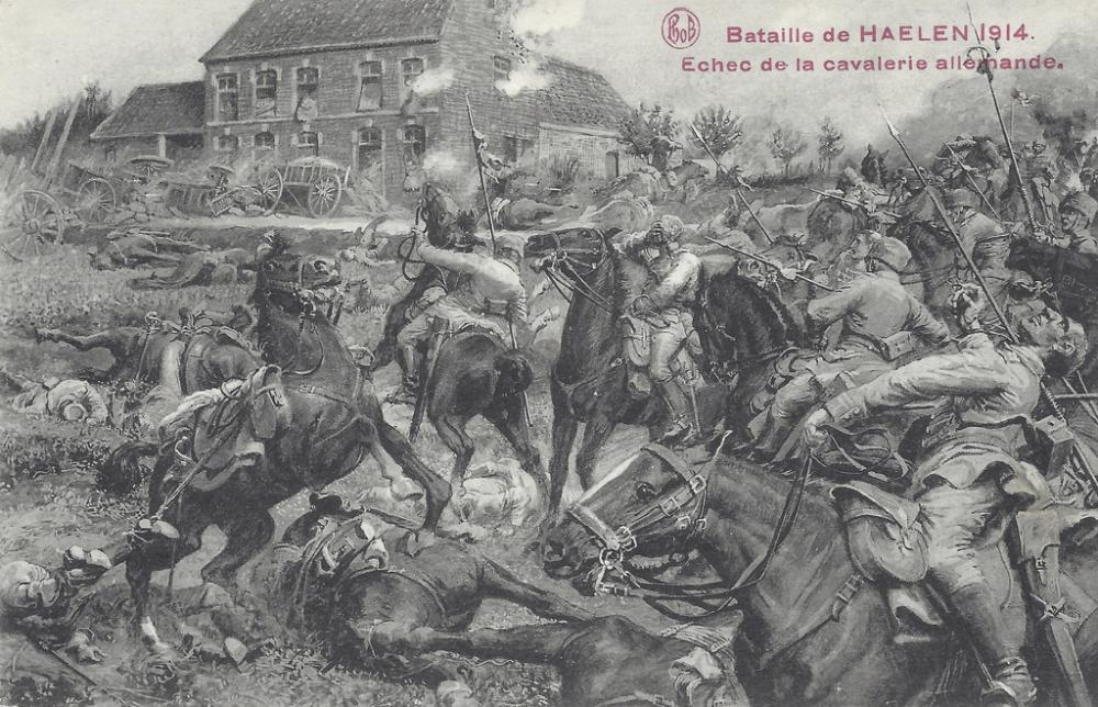 postcard Bataille de Haelen.jpg