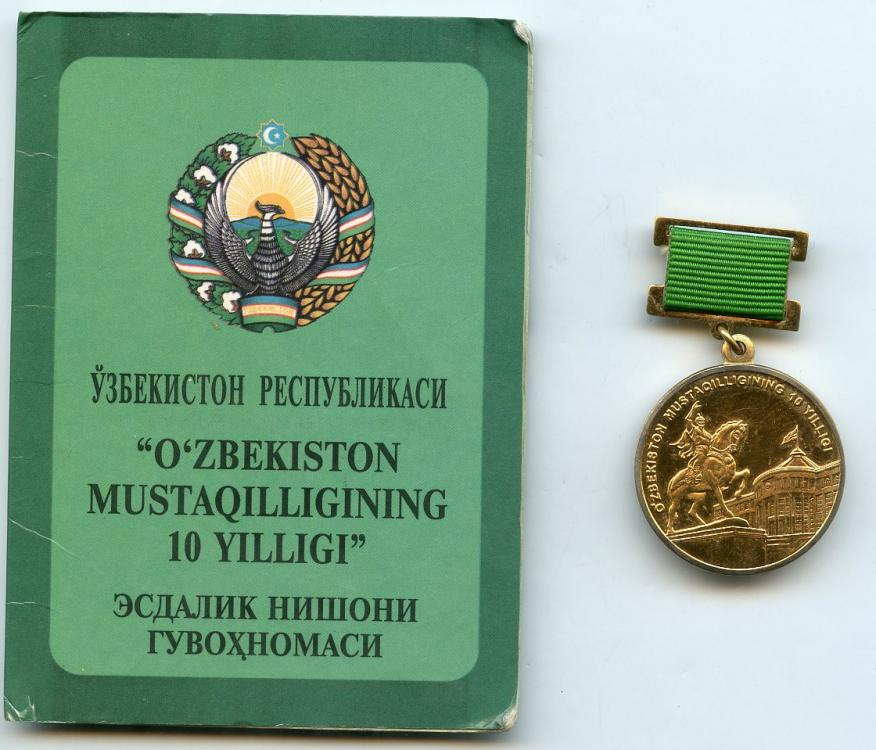 Uzbekistan Medal 4 with Award Document 1.jpg