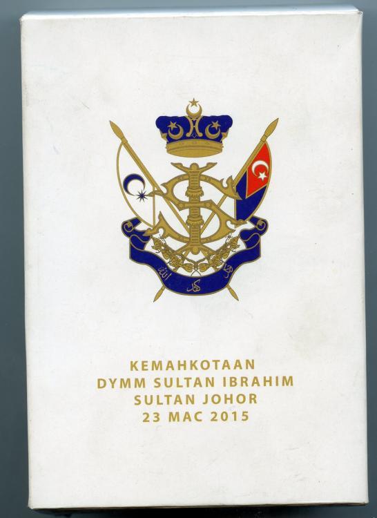 Malaysia Johor Sultan Coronation 2015 outer protective case.jpg