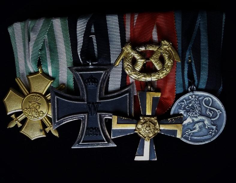 Ostsee Division Richard Steiner sächsisches karabiner regiment medalbar vr3 1918.jpg