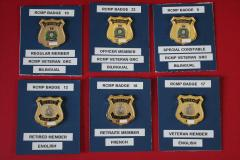 RCMP Veteran Badges