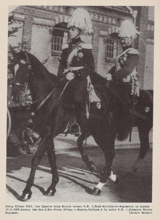ALFONS XIII Kgl. Bayer. 5. Feldartillerie-Regiment König Alfons XIII. von Spanien. 10001.jpg