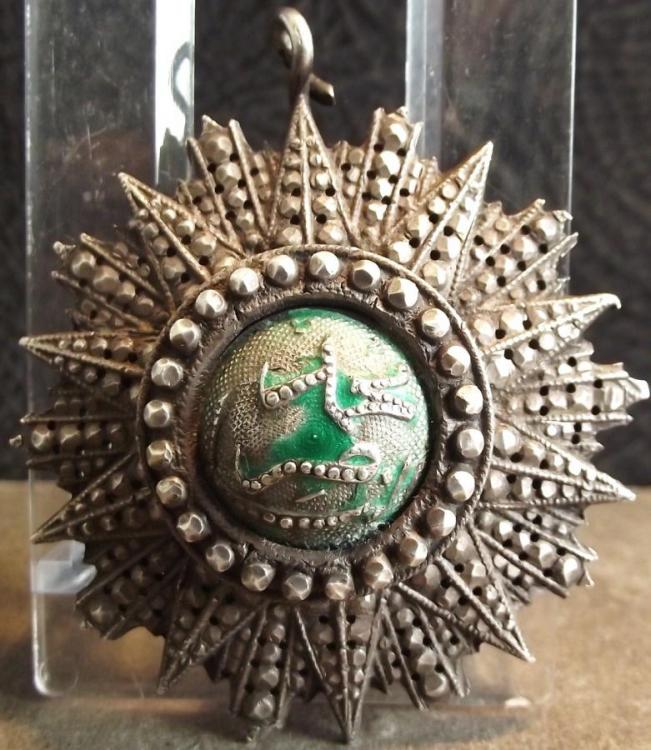 Tunesian Order of Nichan Iftikhar Grand Cross breast star Ali Bey 1882..jpg