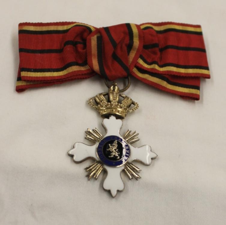 unknown medal Belgian no 1.jpg