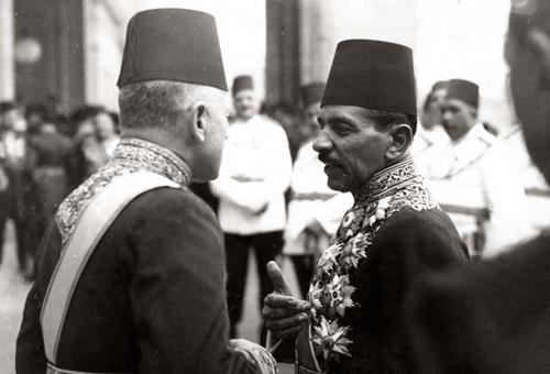 Youssef Zulficar pasha with Aly Maher pasha.jpg
