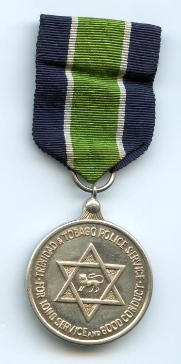 Trinidad & Tobago Police LSGC Medal 1962-1976 obverse small size.jpg