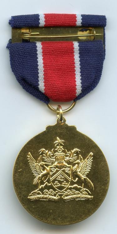 Trinidad & Tobago Police Gallantry Medal Post 1976 reverse.jpg